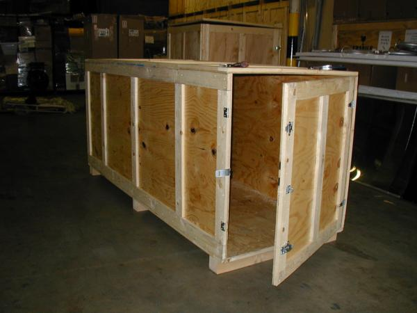 International Shipping. Custom built crate.