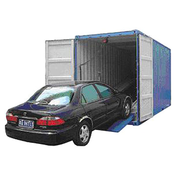 Shipping cars in containers