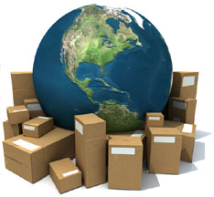 International Shipping Boxes
